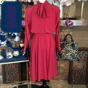 Vintage Dresses - VINTAGE 1980'S DRESS (12M)